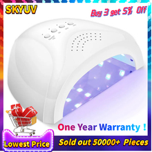 48W SUN Nail Dryer UV Lamp For Curing UV Gel Nail Polish With Sensor Smart Timer Lamp for Nails