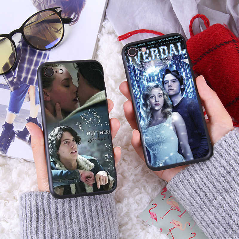 American TV Riverdale Series Phone Case for iphone7 8 Plus Soft Silicone Cover for iPhone8 6 6s Plus X XR XS Max TPU Phone Case