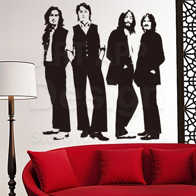 Art New Design Pvc Home Decor The Beatles Wall Sticker