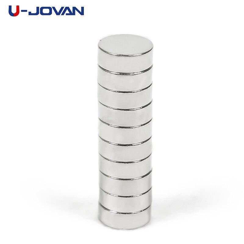 U-JOVAN 50 stücke 8x3mm N35 Kleine Disc Leistungsstarke Runde Magnet Starke Rare Earth Neodym Magneten 8*3