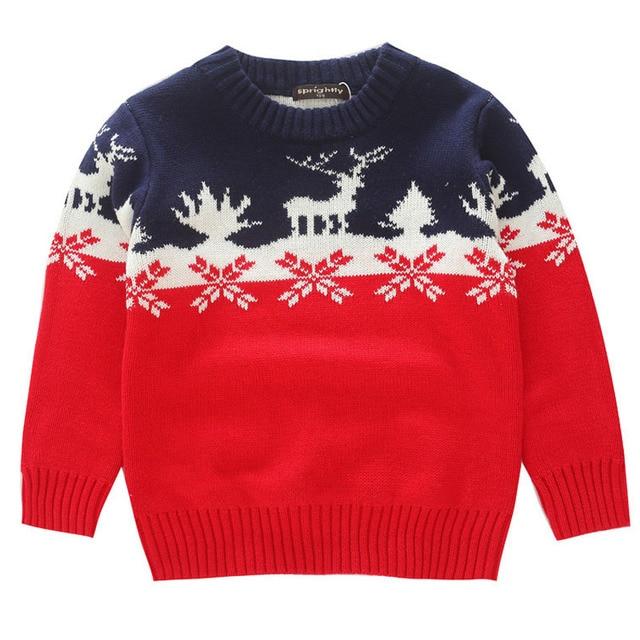 Aliexpress.com : Buy Winter Children Christmas Sweater Boys Girls ...