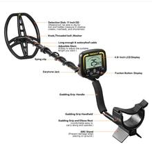 Professional Underground Metal Detector TX850 Treasure Hunter Gold Digger LCD Display Headphone Ultra Sensitivity Detector