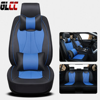 PU Leather Breathable Car Seat Cover Cushion Seat Protector Universal For Toyota Volkswagen Nissan Seat Cover