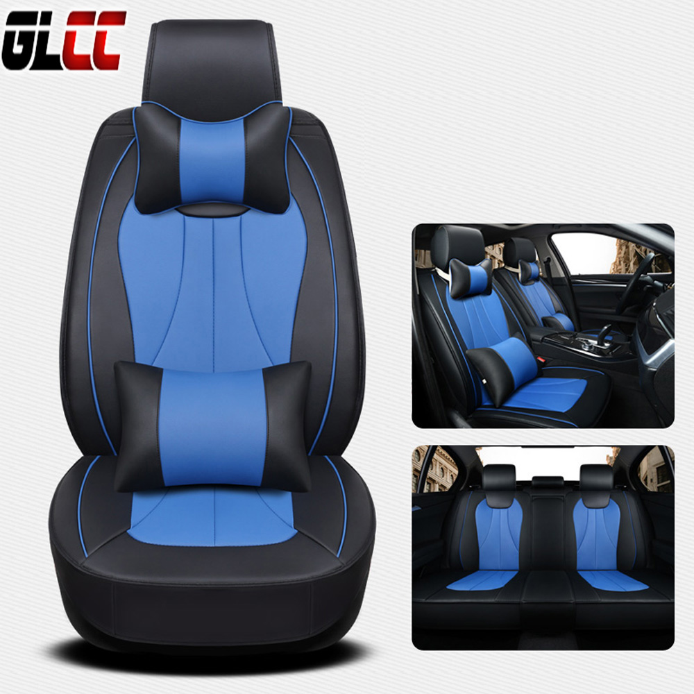 Luxury PU Leather car seat covers for Toyota/volkswagen/Nissan Universal seat cover Auto Accessories Seat Cushion car styling