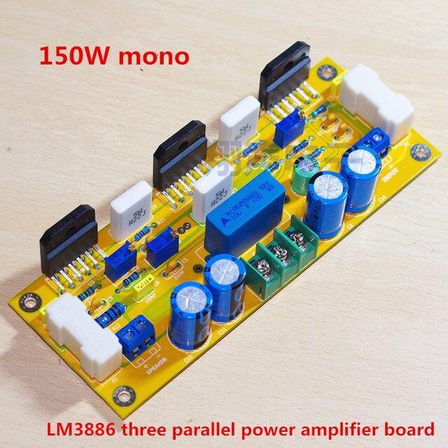 150w mono lm3886x3 power amp parallel power amplifier board 140150w mono lm3886x3 power amp parallel power amplifier board 140 * 53mm