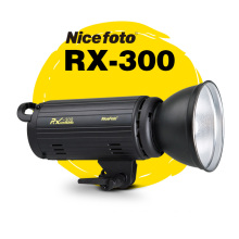 лучшая цена NiceFoto photography lights RX-300 300W  Studio Flash  fast recycling time Studio photography studio light lamp touch button