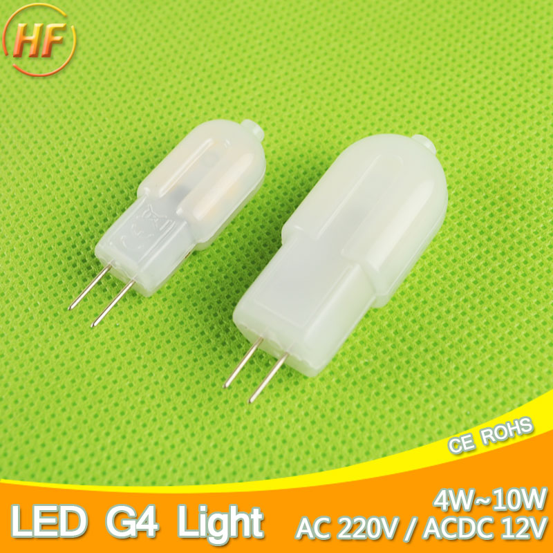 12V 220V Mini G4 LED Lamp COB LED Bulb 4W 6W 10W DC/AC LED G4 Dimmable 360 Angle Chandelier Replace Halogen G4 Lamp Light 3W 12W g4 led bulb smd 2835 3014 g4 led lamp 3w 4w 5w 6w 7w 10w led light ac dc 12v 220v 360 beam angle replace chandelier halogen lamp