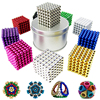 5mm 222pcs Bag Box Card Magnetic Neo Cube Balls Magic Puzzle Block For Child Cubes Educational
