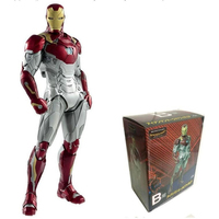 NEW hot 26cm MK47 Iron Man Avengers Super Hero Collectors Action Figure Toys Christmas Gift Doll