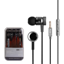 New arrival Wired earphone With Microphone HD Stereo In ear Handsfree Earbuds For Iphone Samsung Huawei Xiaomi lenovo