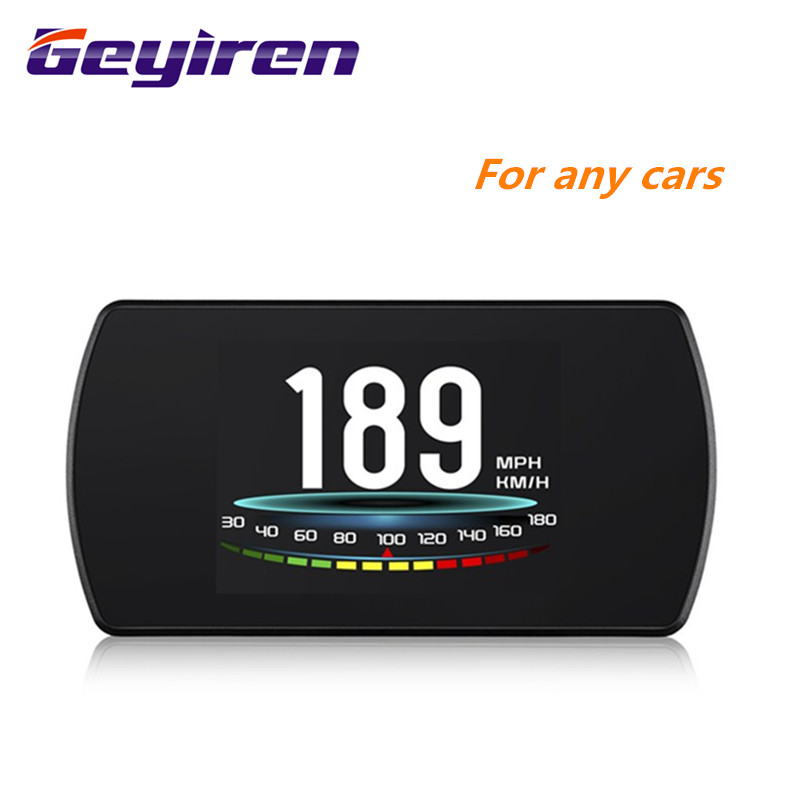 "GEYIREN T800 4.3"" Smart Digital Head Up Display Car HUAutomobile On board Computer Car Digital OBD Driving Computer Display Cars-in Head-up Display from Automobiles & Motorcycles"