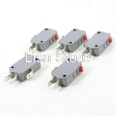 Switches Considerate 250vac 16a Spdt 1no 1nc 3p Red Momentary Pushbutton Limit Microswitch Smoothing Circulation And Stopping Pains Lighting Accessories