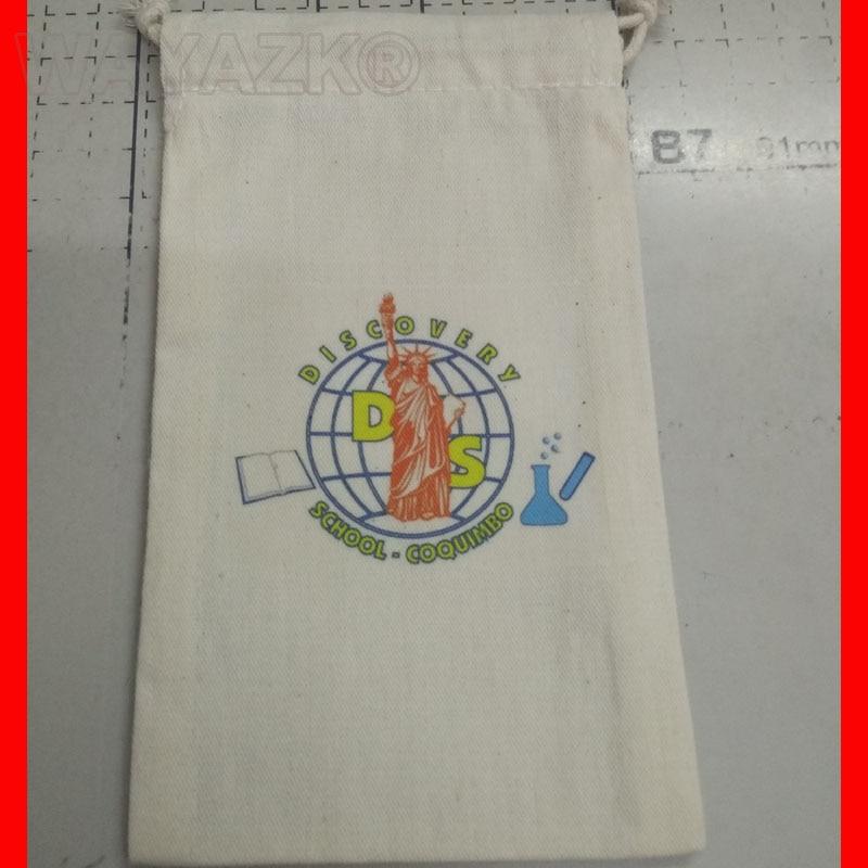 custom logo cotton bag