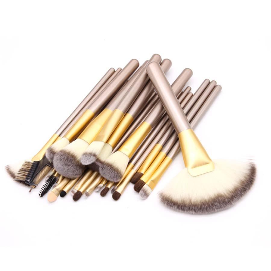 24pcs Professional Makeup Brushes Сапалы Кабуки - Макияж - фото 1