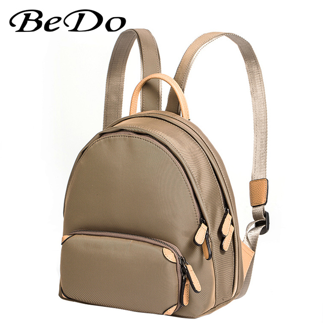 3f08130360 Women Backpack for School Preppy Look Durable Nylon Backpacks Rucksack  Top-handle Leisure Travel Backpack Casual Bags for Girls