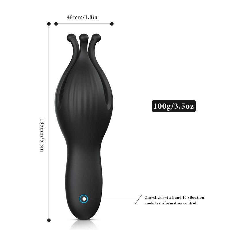Male Vibrator Masturbation Cup Automatic G Spot Delay Lasting Stamina Trainer Penis Stimulator Blowjob Sex Machine Adult Toys Pakistan