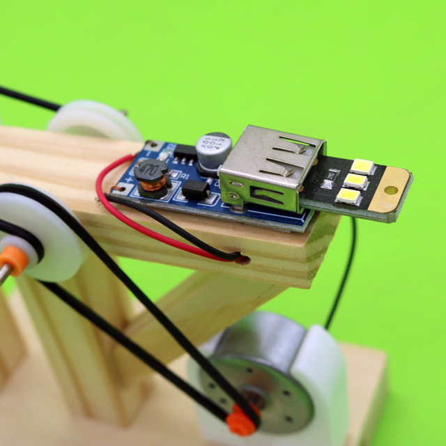 DIY-Dynamo-Generator-Model-Wood-Invention-Science-Experiment-Toys-Assemble-Material-Kits-Children-Creative-Educational