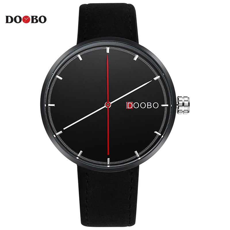 Top Luxury Brand DOOBO Men Sports Watches Men's Quartz Clock Man Leather Army Military Wrist Watch Relogio Masculino 2017 xinge top brand luxury leather strap military watches male sport clock business 2017 quartz men fashion wrist watches xg1080