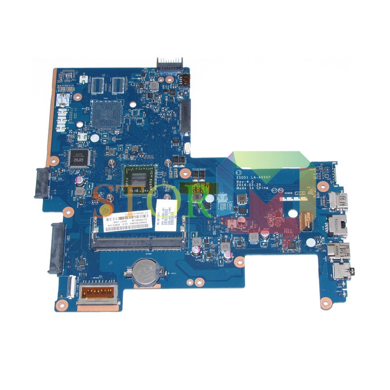 NOKOTION for HP Pavilion 15-G laptop motherboard 764264-501 ZSO51 LA-A996P AM6210 DDR3 NO VGA PORT 762526 501 main board for hp pavilion 15 p day22amb6e0 laptop motherboard ddr3 am8 cpu