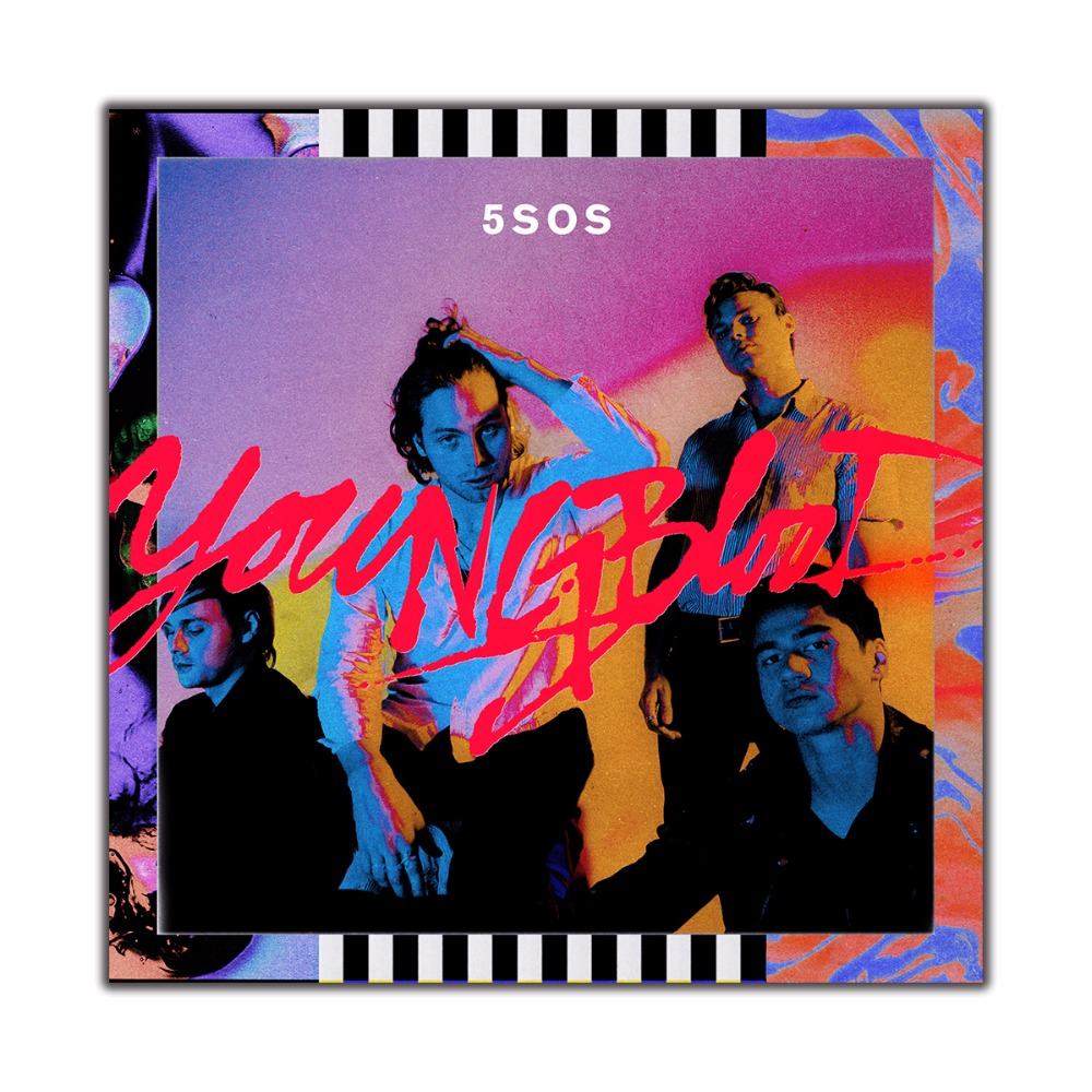 5 Second of Summer Youngblood Custom New Art Poster Print Wall Decor