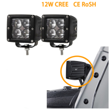 ECAHAYAKU 2 Pcs Car 4D 20W LED offroad Work Light Spot Fog Lamps For Ford F150 Truck Boat SUV Atv Jeep Wrangler 4wd Motorcycle