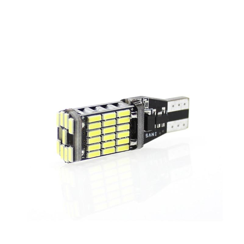 2 Stks T10 W5W T15 W16W 4014 45SMD Canbus FOUT GRATIS - Autolichten - Foto 3