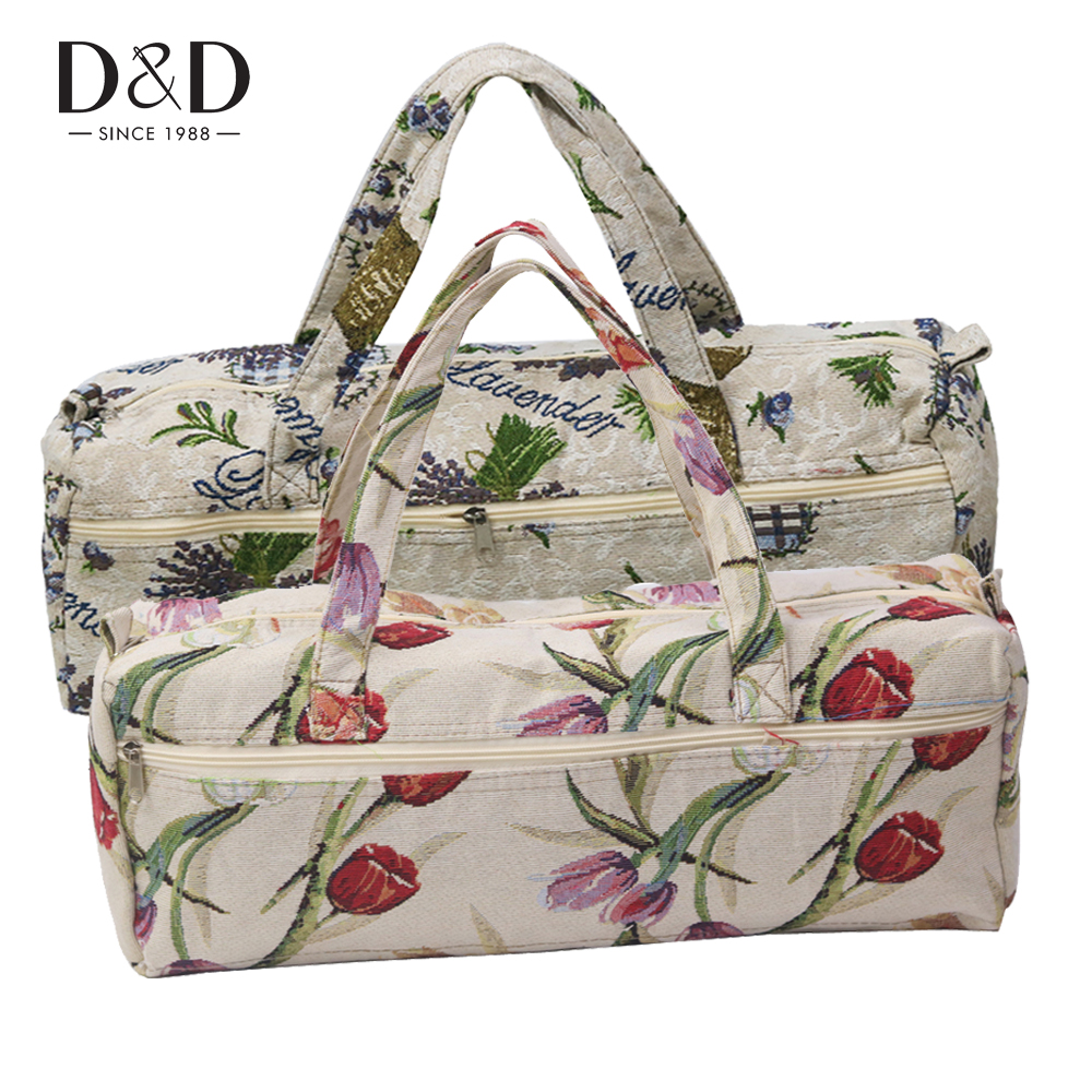 D&D 2 Designs Household Knitting Needles Storage Bag Knitting Tools Organizer Sweater Needles Hand Bag 45*18*15CM