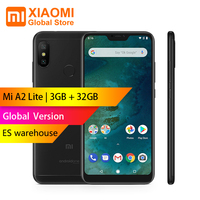 Global Version Xiaomi A2 Lite 3GB 32GB Snapdragon 625 Octa Core Telephone 5.84 19:9 Full Screen 12MP+5MP 2 Camera Smartphoe