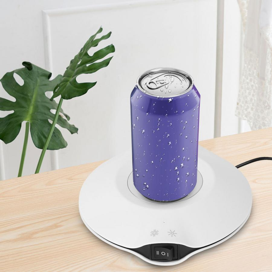 Бытовой 2 в 1 чашка с USB обогреватель радиатор пластина мини офисный Настольный нагревательные охладительные устройства для Кофе Чай