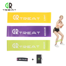 3pcs/Set Rubber Resistance Bands Elastic Tension Band Yoga Exercise Fitness Equipment Expander