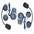 2 unids M1035 BT interphone Bluetooth casco de La Motocicleta del altavoz sistema de intercomunicación Auricular intercomunicador capacete 500 m