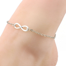 Women's Sexy 8-Shape Chain Bracelet Barefoot Sandal Beach Anklet Foot Jewelry