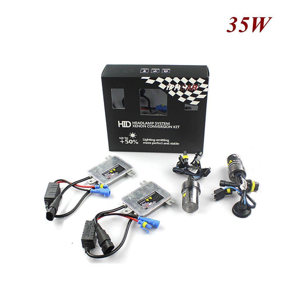35w AC hid xenon kit canbus xenon ballast h1 h4 h7 h8 h11 hb3 hb4 h13 9007 9008 bulb white color 6000k car headlight auto lamp