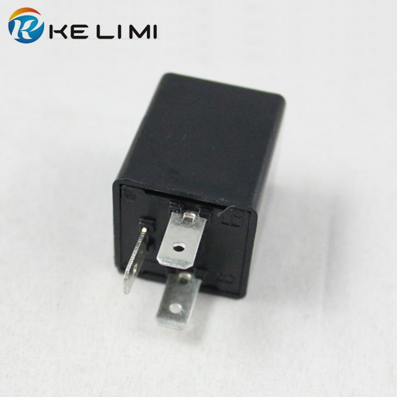 KE LI MI LED Turn Signals 12V 135W 3Pin Signal Indicator Electronic Flasher Relays Fix LED <font><b>Light</b></font> <font><b>Blink</b></font> Flash Car Motorcycle <font><b>bike</b></font> image