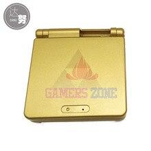 6 takım altın kılıf kapak GBA SP için konut Case
