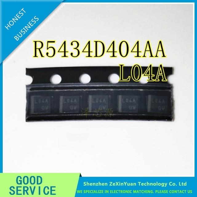 20 個 R5434D404AA TR FE SON8 R5434D404AA TR R5434D404AA L04A EV リチウムイオン電池保護 IC