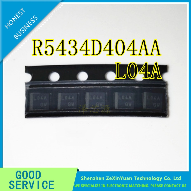 20PCS R5434D404AA-TR-FE SON8 R5434D404AA-TR R5434D404AA L04A EV Li-ion Battery Protection IC
