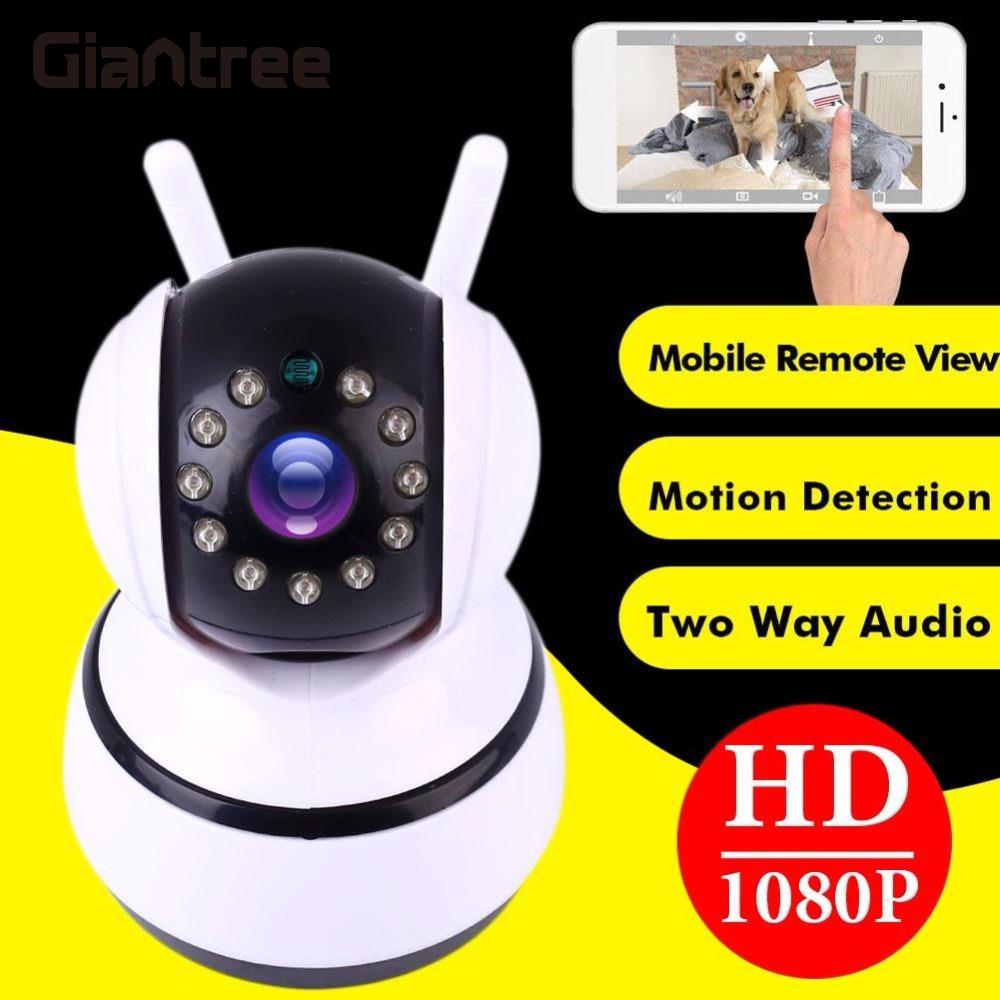giantree 1080P HD IP Camera Q8 Baby Monitor Wireless Monitor Camera Network Recorder Night Vision Audio Video home Surveillance