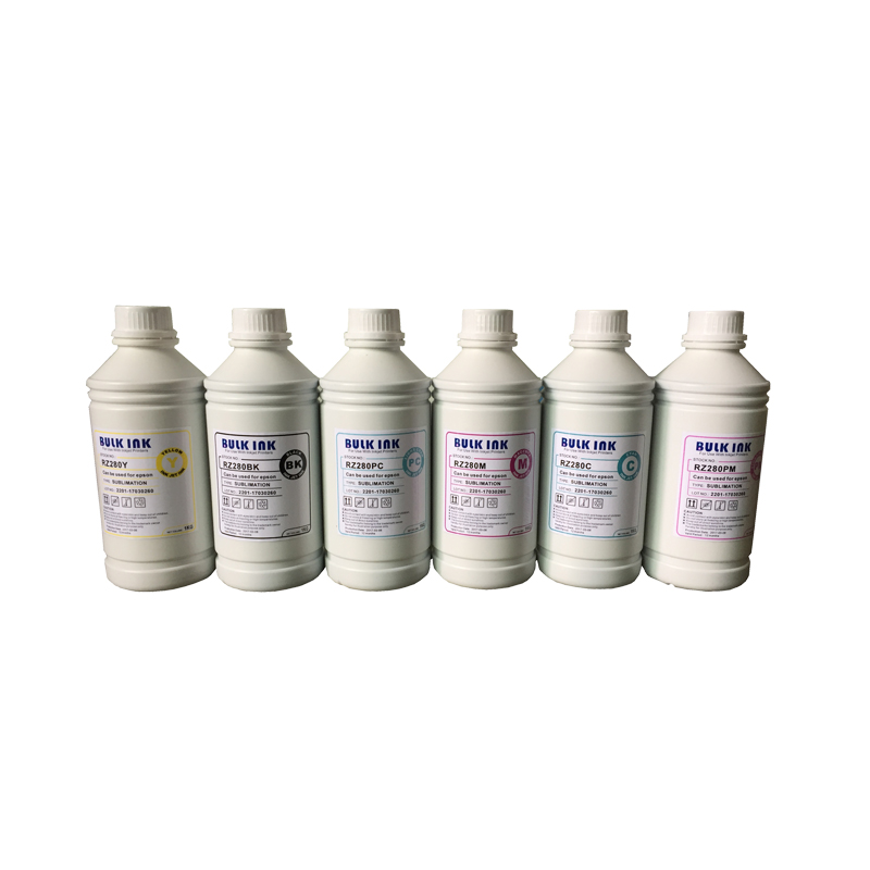 6 X 1000ML Universal Sublimation Ink For Epson Printers Heat <font><b>Transfer</b></font> Ink Heat Press Sublimation Ink for cup plate shoes etc.