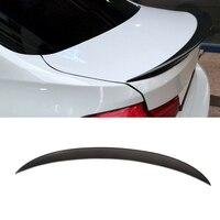 Fibra de carbono spoiler traseiro Boot lip asas para BMW Série 3 F30 F80 M3 320i 328i 335i 326D 2012-2018 P Estilo Spoiler