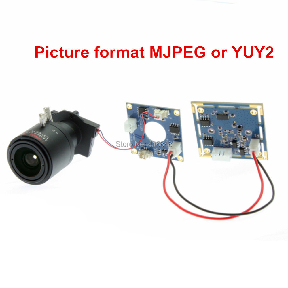 US $46 78 10% OFF 2Megapixel 1920X1080 USB Surveillance camera module  OV2710 mjpeg 30fps/60fps/120fps 2 8 12mm varifocal lens CCTV Camera  board-in
