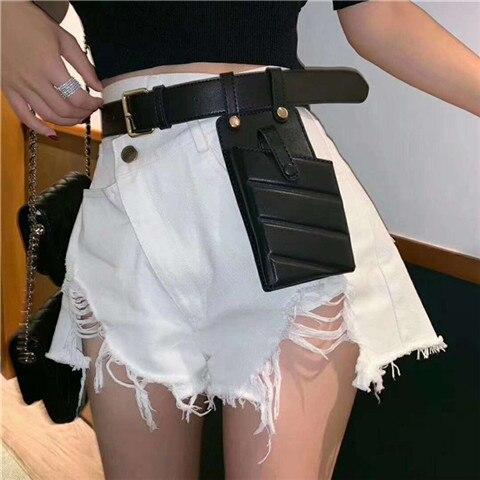 a mulher cintura saco de cinto pacotes