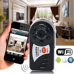 8 GB karta + Q7 rejestrator noktowizor na podczerwień kamery Wifi IP bezprzewodowa kamera sieciowa