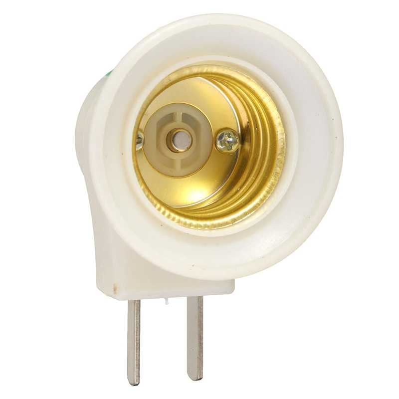 US Plug E27 Lamp Base Socket Holder Bulb Light Rotated Lamp Holder Bulb Adapter Converter AC250V 10A With ON/OFF Button Switch