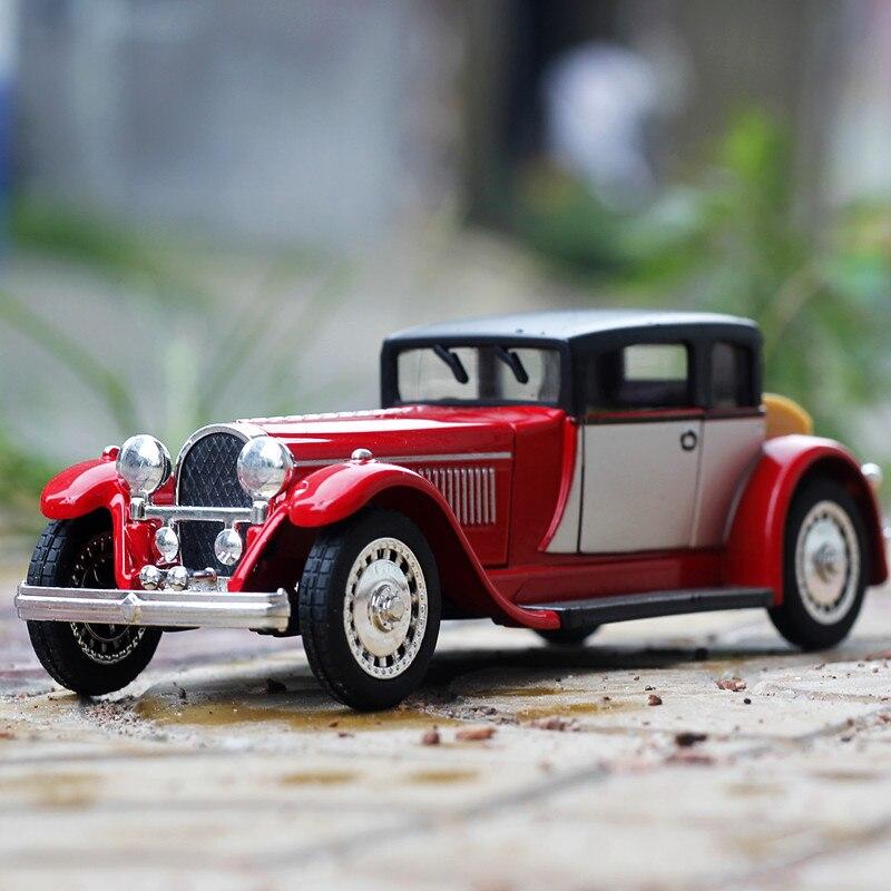 1:36 Aleación Diecast Modelo de Coche coche Clásico del envío libre Tire atrás D