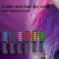 10Pcs Hair Mascara New Design Crayons for Hair Color Chalk Temporary Hair Dye With Hair Comb