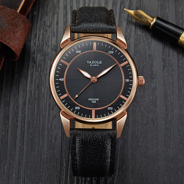 YYAZOLE Business New Wrist Watch Men Watches Top Brand Luxury Famous Male Clock Quartz Wristwatch For Men Hour Relogio Masculino
