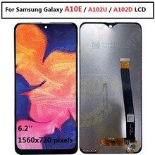 サムスンギャラクシー A10e A102 A102F A102DS A102U ディスプレイタッチスクリーンデジタイザアセンブリ A102D A102 A102F/Ds サムスン a10e 液晶