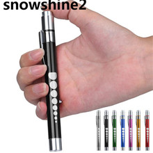 snowshine2#10 Cycling Bicycle Bike Front Head light Medical First Aid LED Pen Light Flashlight Torch Doctor EMT Emergency