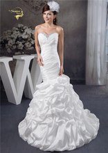 Jeanne Love Mermaid Wedding Dresses Taffeta Vintage Dress 2019 Robe De Mariage JLOV75978 Vestido Noiva Trouwjurk